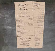 wedding program printable the 25 best printable wedding programs ideas on