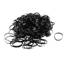 hair ties 300 pcs black elastic ponytail holders hair rubber bands hair ties