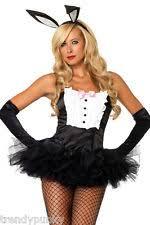 Bow Tie Halloween Costumes Bunny Halloween Costume Party Sexywear Teddy Ears Bow Tie Bodysuit