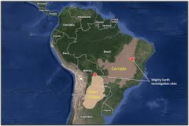 south america map rainforest new soy driven forest exposed in south america