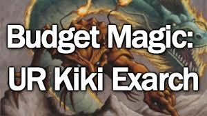 budget magic ur kiki exarch modern deck tech y partida 1
