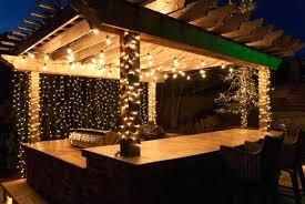 outdoor patio string lights ideas lighting ideas for backyard outdoor patio lighting idea string home