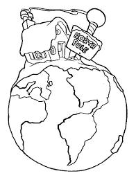 santas home at the north pole coloring page download u0026 print