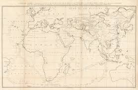 Mercator World Map by Sea Chart Of The Eastern Hemisphere Of The World Hjbmaps Com