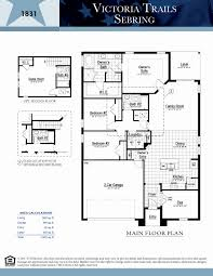 dr horton house plans lovely sebring victoria trails deland