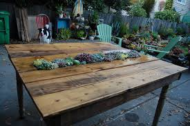 outdoor table ideas 50 wonderful pallet furniture ideas and tutorials