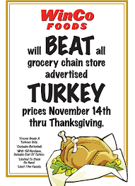 winco thanksgiving turkey specials a thrifty recipes