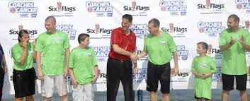 6 Flags Maryland Turgeon Six Flags Support Coaches Vs Cancer Maryland Terrapins