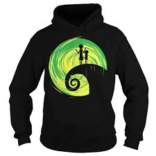 rick and morty nightmare before shirt hoodie and sweater