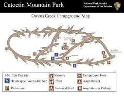 Banning State Park Map by Campgrounds Catoctin Mountain Park U S National Park Service