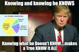 Rubio Meme - the presumptive philosopher trump knows rubio thinks cruz doesn