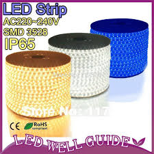 led light strip waterproof led strip waterproof led light strip 60 led m lamps 220v 240v