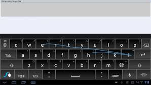 android swype keyboard this swype for android honeycomb tablets computerworld