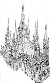 Medieval Cathedral Floor Plan Concept Drawing Of A Gothic Cathedral Gothic Churches