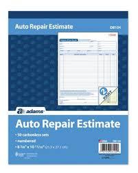 Auto Estimates by