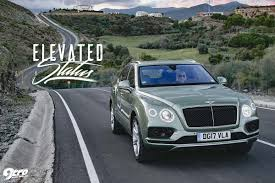 bentley bentayga grey bentley bentayga elevated status 9tro
