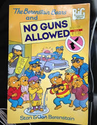 berenstien bears book review the berenstain bears and no guns allowed p320 entry
