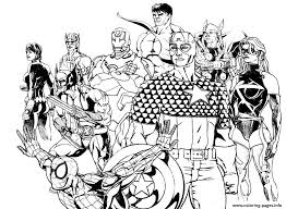 coloring marvels theers coloring pages free for boysavengers