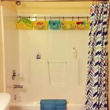 Bathroom Shower Storage Ideas Curtain Rod Shower Storage Gopelling Net
