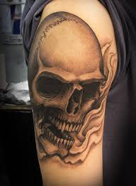 love gun tattoo design on ribs for men real photo pictures