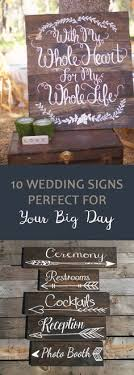 wedding signs diy the 5 best techniques for wedding signs wedding