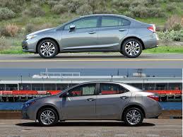 honda car comparison back 2 back comparison honda civic vs toyota corolla autobytel com