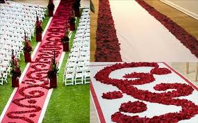 petal aisle runner petal aisle runners create a personalised entrance at your
