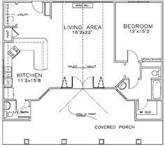 Small Pool House Floor Plans The Folding Doors On This Pool House Plan Would Really Open The
