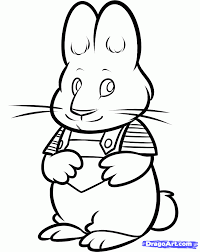 max and ruby coloring pages getcoloringpages com