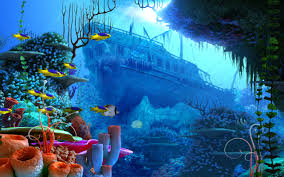 free under the ocean wallpaper 1024x1024 735 21 kb