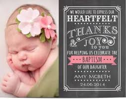 baptism thank you wording best 25 baptism thank you cards ideas on christening