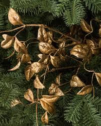 gilded leaves picks set of 12 balsam hill