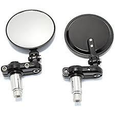 ls plus round mirror amazon com crg mirror hindsight ls left black hsls 200 l