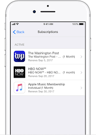apple itunes help desk view change or cancel your subscriptions apple support