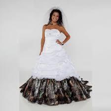 pink camo wedding gowns white camo wedding dress for sale getswedding