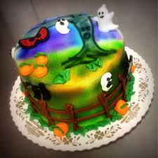 spooky cakes for halloween holiday u2014 trefzger u0027s bakery