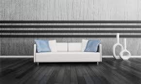 ideen kleines streifen braun wand wohnzimmer ideen