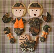 camo baby shower camo baby shower cookie connection