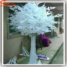 export large outdoor artificial white banyan trees white ficus