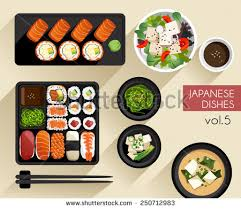 cuisine illustration food illustration japanese food vector illustration stock vector