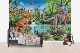 dinosaur waterfall wall mural photo wallpaper photowall