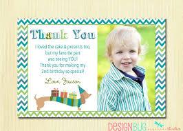 First Year Invitation Birthday Cards Matching Dog Birthday Thank You Card Diy Printable Thank You