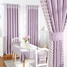 European Lace Curtains Blackout Ready Made Curtains Fabric For Living Room Lace