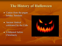 the history of comes from the pagan