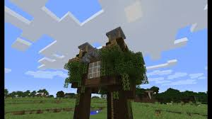 Minecraft Tutorial How to Build an Easy and Cool Tree House  YouTube