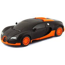 toy bugatti scalextric bugatti veyron matt black orange c3661