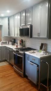 paint color to go with gray kitchen cabinets u0026 oak trim