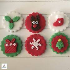 Edible Christmas Baking Decorations by Christmas Cake Decorations Cake Decorating Ebay