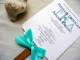 program fans for wedding wedding program fans program fans turquoise blue programs