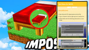 Bed Wars Map Bed Wars For Mcpe 1 0 Download Apk For Android Aptoide